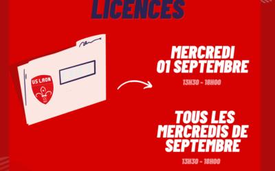 Permanences Licences US LAON.